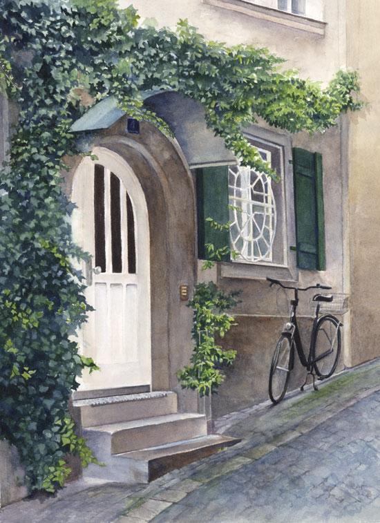 Ivy Covered Doorway