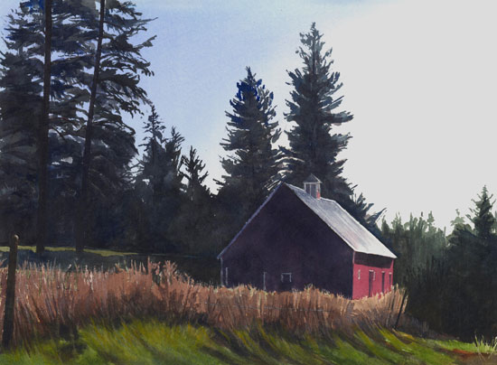 Red Barn on Seven Mile